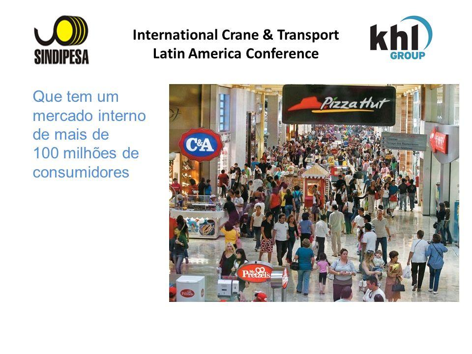 International Crane & Transport Latin America Conference FÁBRICA DE FERTILIZANTES DA PETROBRAS Que tem um mercado interno de mais de 100 milhões de co