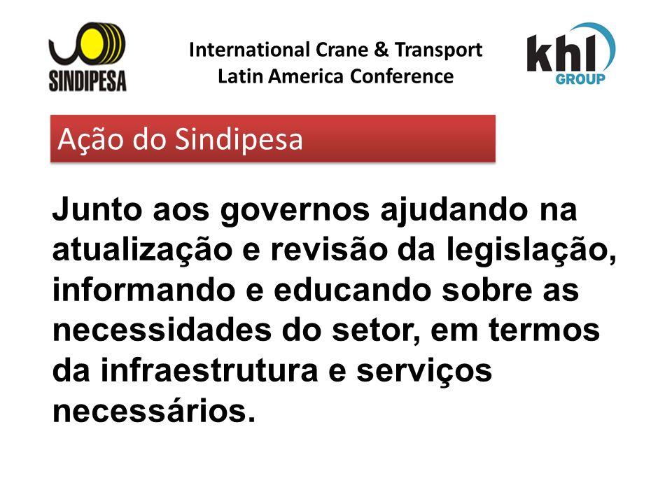 International Crane & Transport Latin America Conference FÁBRICA DE FERTILIZANTES DA PETROBRAS Junto aos governos ajudando na atualização e revisão da