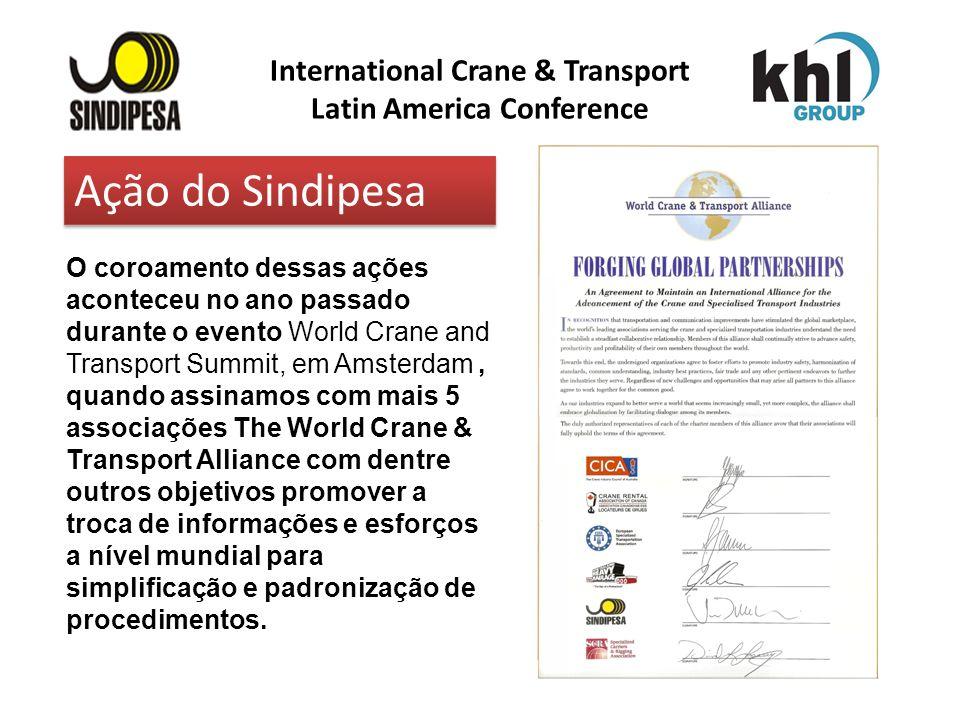 International Crane & Transport Latin America Conference FÁBRICA DE FERTILIZANTES DA PETROBRAS O coroamento dessas ações aconteceu no ano passado dura