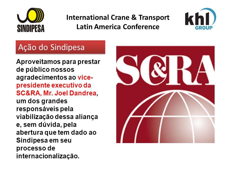 International Crane & Transport Latin America Conference FÁBRICA DE FERTILIZANTES DA PETROBRAS Aproveitamos para prestar de público nossos agradecimen