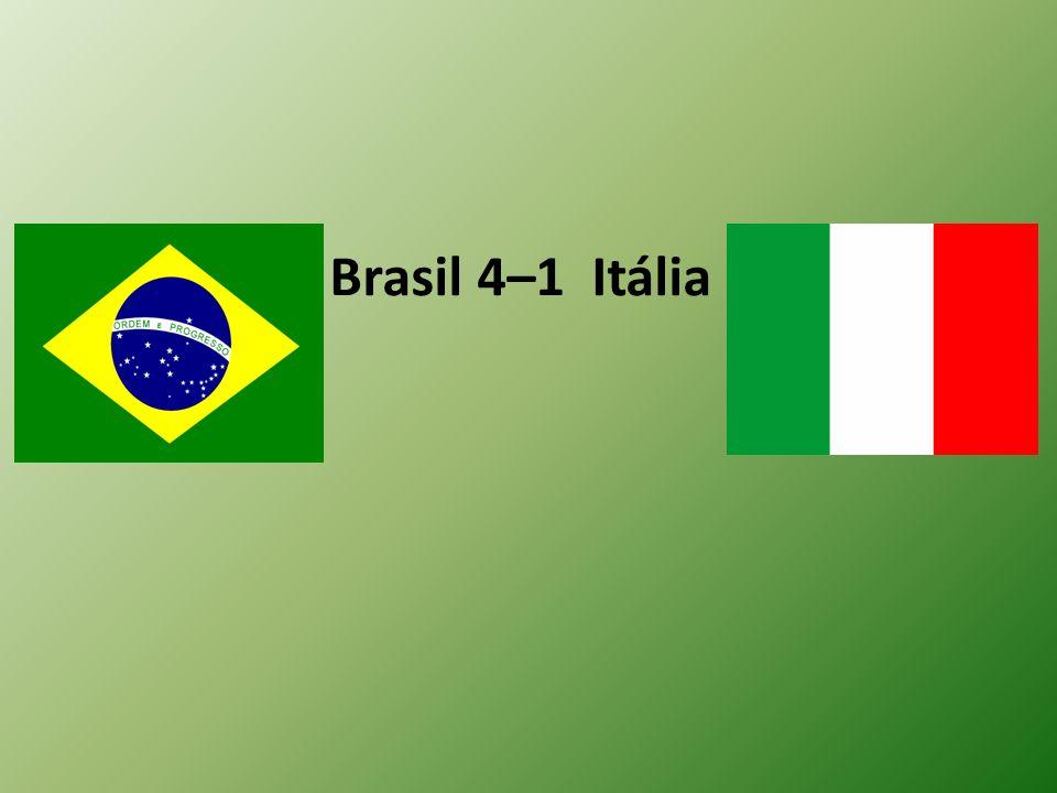 Brasil 4–1 Itália