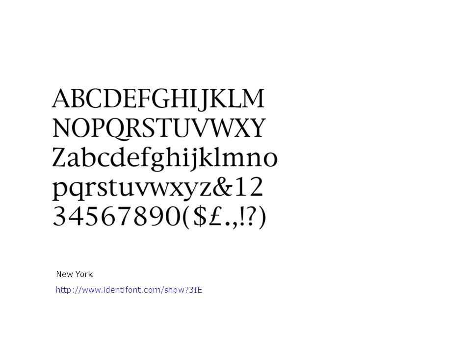 New York http://www.identifont.com/show?3IE