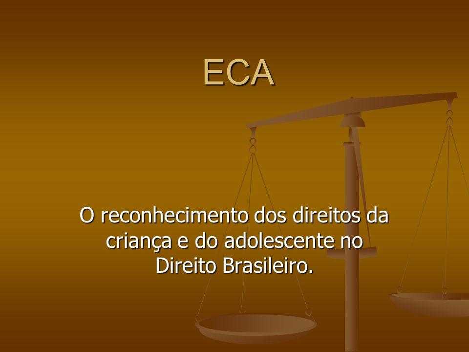 Constituição Brasileira 1988 Constituição Brasileira 1988 Convenção sobre os Direitos da Criança.