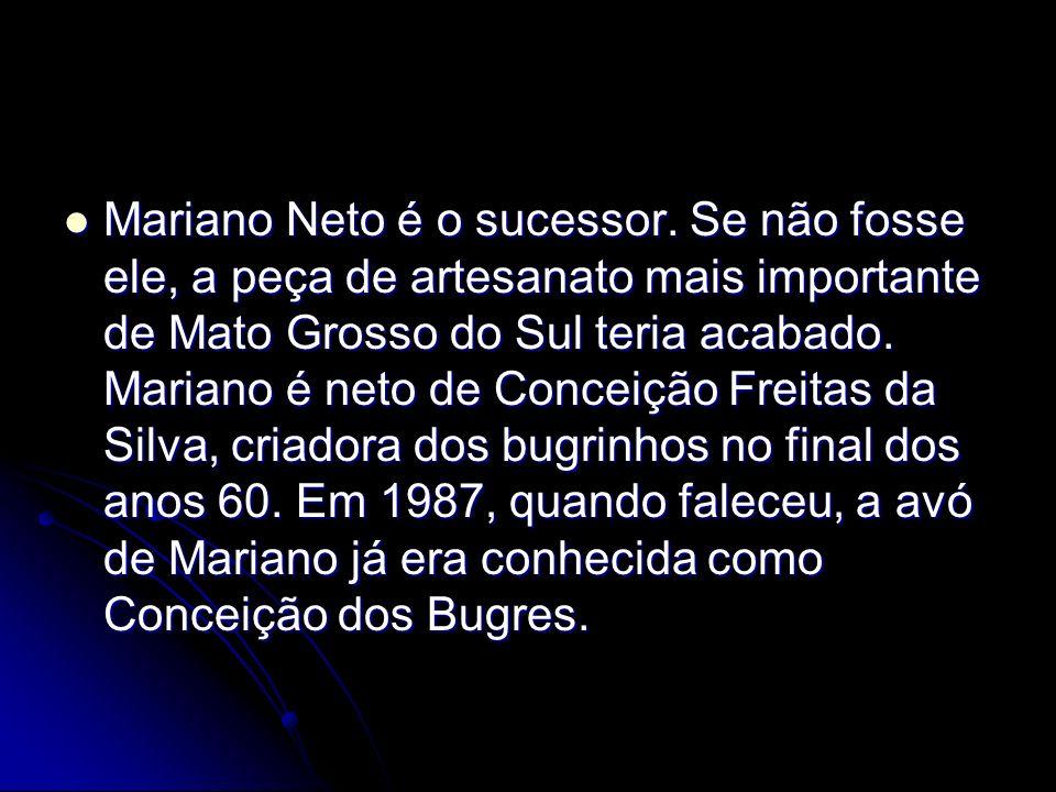 Mariano Neto é o sucessor.