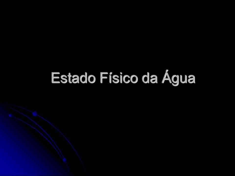 Estado Físico da Água