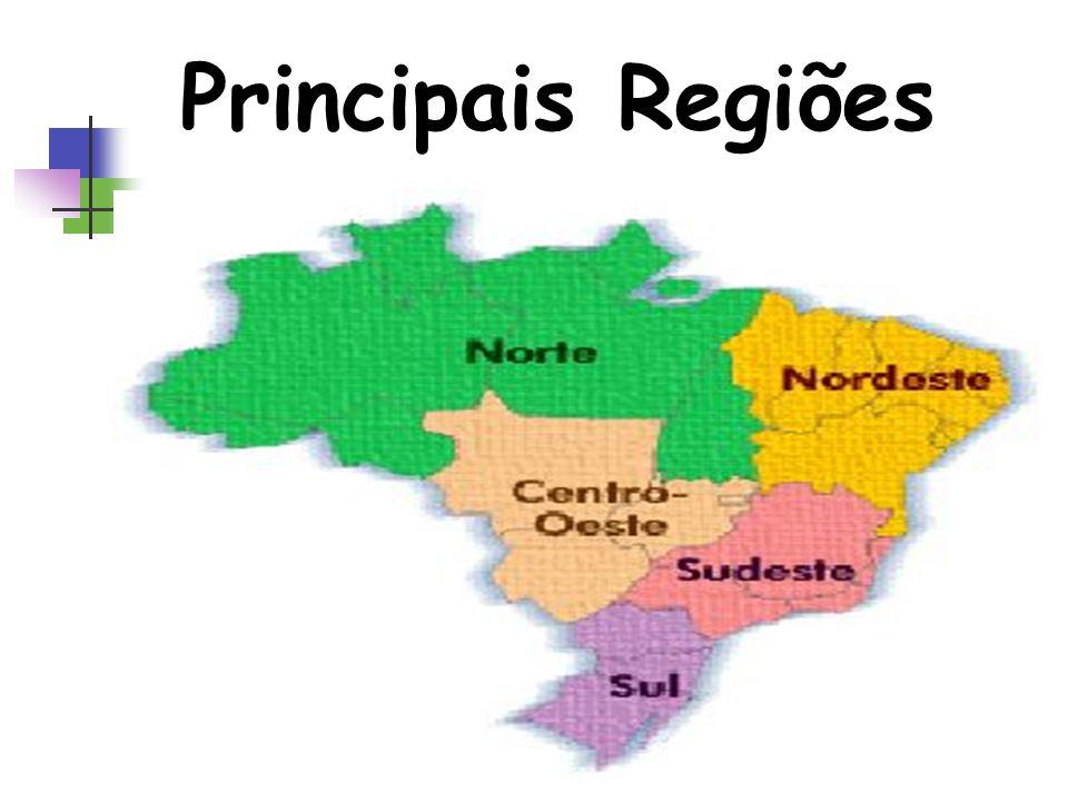 Principais Regiões