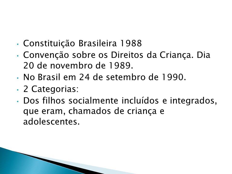 O RECONHECIMENTO DOS DIREITOS DA CRIANÇA E DO ADOLESCENTE NO DIREITO BRASILEIRO.