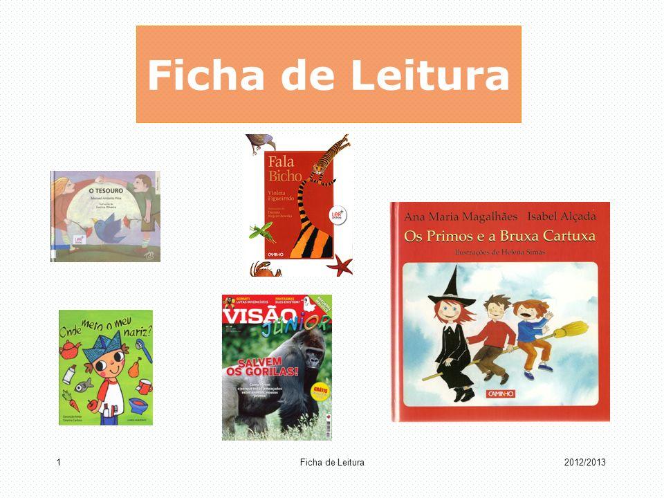 Ficha de Leitura 12012/2013