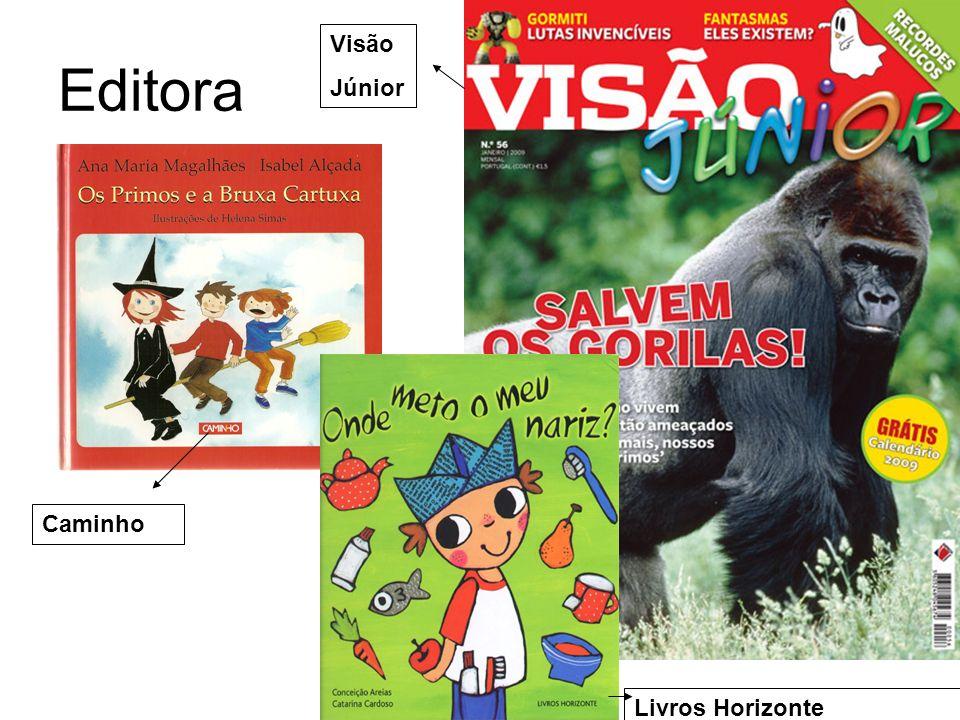 Editora Caminho Livros Horizonte Visão Júnior
