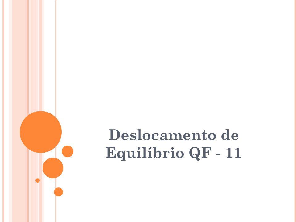 Deslocamento de Equilíbrio QF - 11