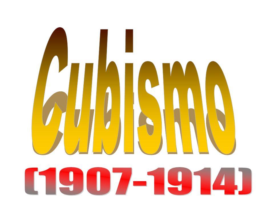 O cubismo é um movimento estético que ocorreu entre 1907 e 1914, na França, tendo como principais fundadores Pablo Picasso e Georges Braque.1907 1914Pablo PicassoGeorges Braque Tratava as formas da natureza por meio de figuras geométricas, representando todas as partes de um objeto no mesmo plano.