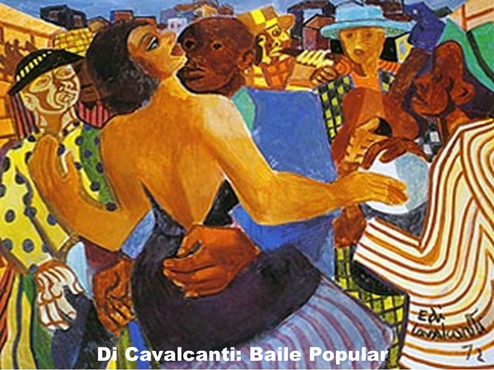 Di Cavalcanti: Baile Popular
