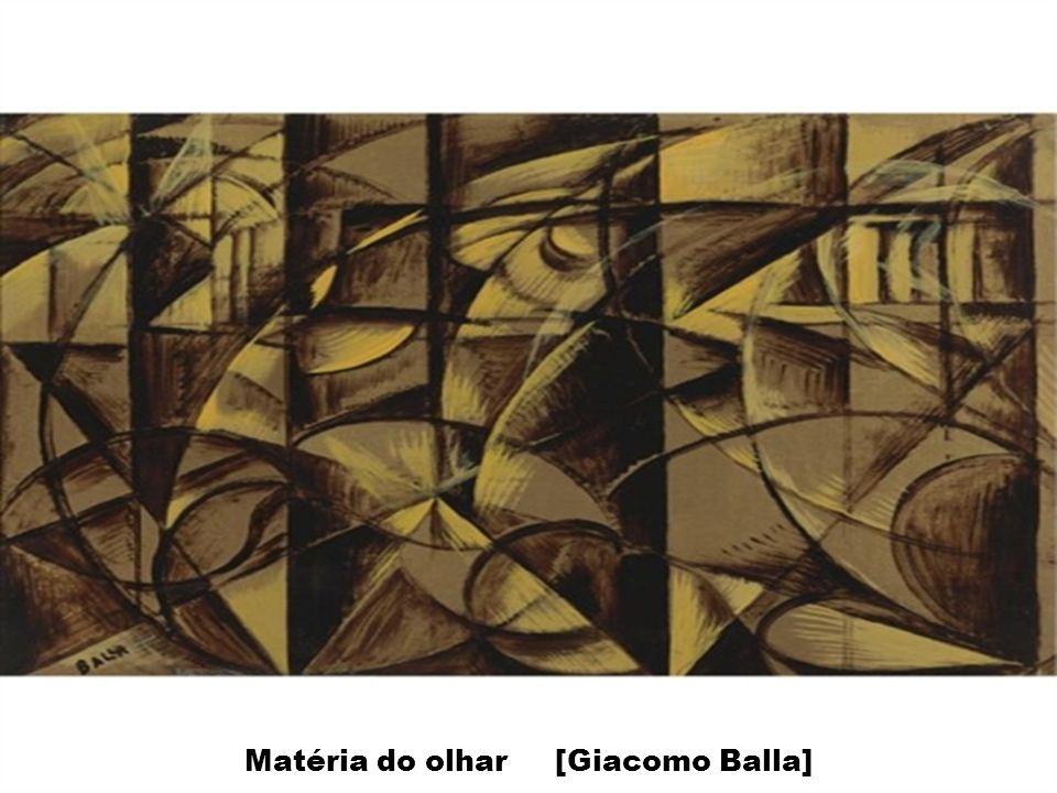 Matéria do olhar [Giacomo Balla]