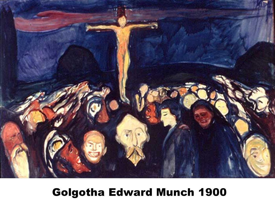 Golgotha Edward Munch 1900