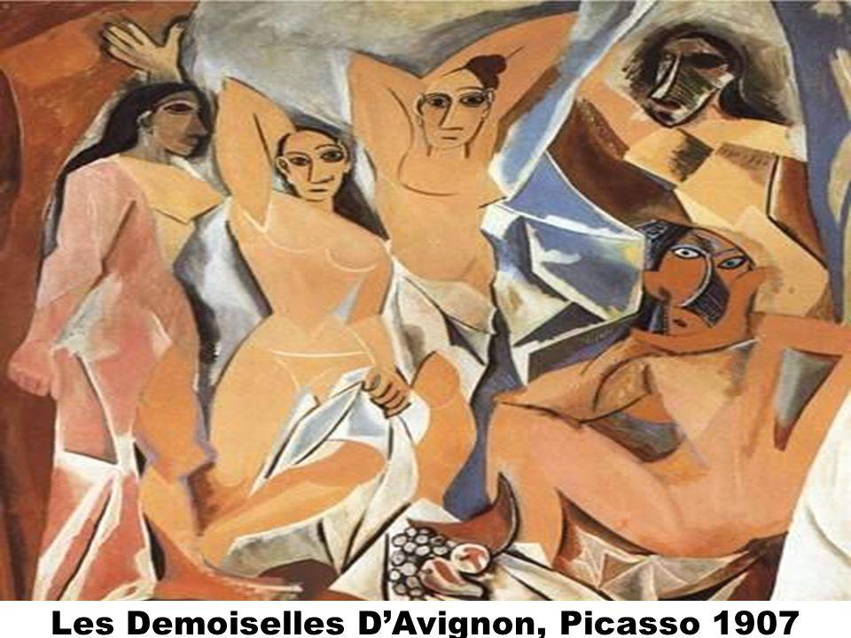 Les Demoiselles DAvignon, Picasso 1907