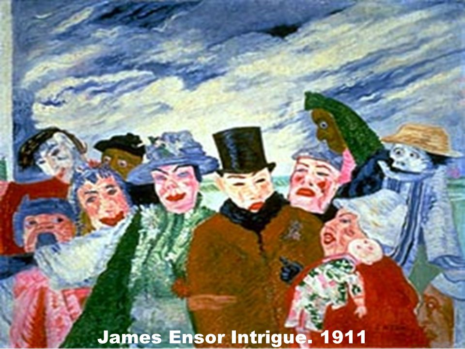 James Ensor Intrigue. 1911