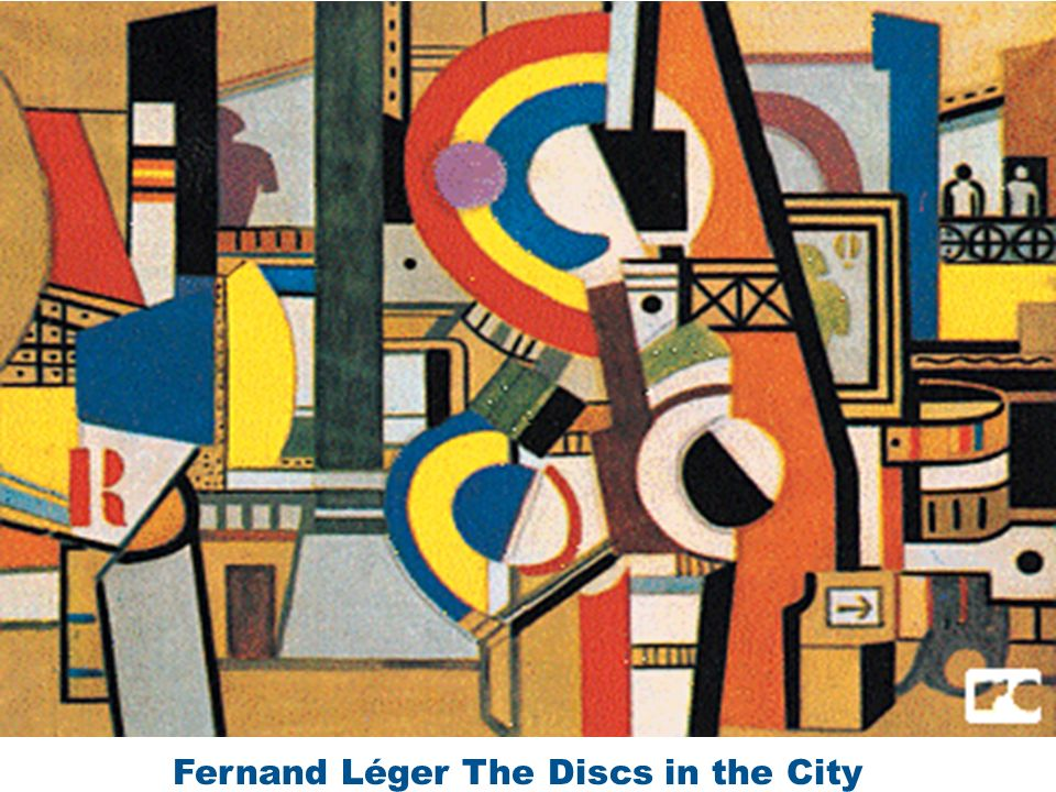 Fernand Léger The Discs in the City