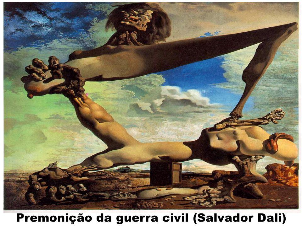 Premonição da guerra civil (Salvador Dali)