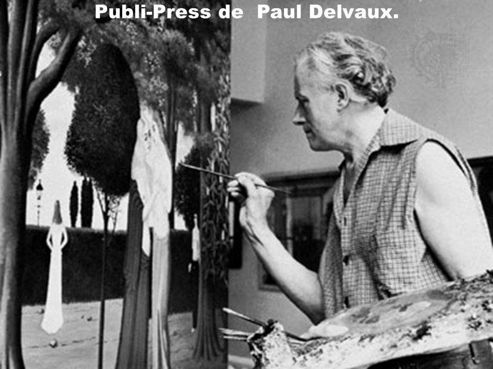 Publi-Press de Paul Delvaux.