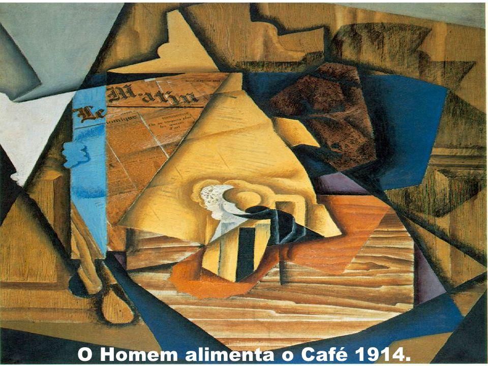 O Homem alimenta o Café 1914.