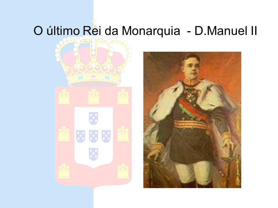 Ultima bandeira da monarquia uso terrestre uso navalA bandeira para uso terrestre era igualmente bipartida de branco e azul; a para uso naval, essa si