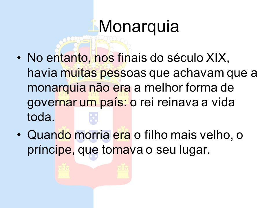 Monarquia Portugal foi, desde a sua fundação, governado por reis. A essa forma de governo chama-se Monarquia.