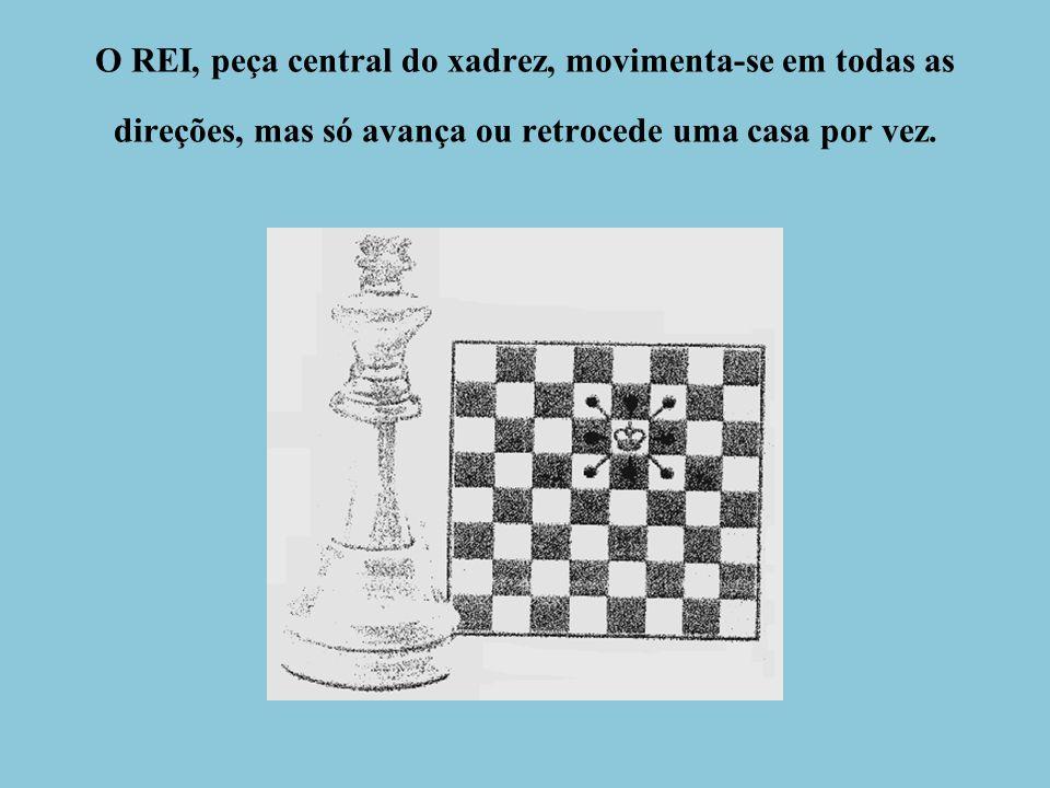 Jogo de Xadrez – Instruções Básicas Objetivo do jogo: Dar o xeque-mate ao rei adversário.