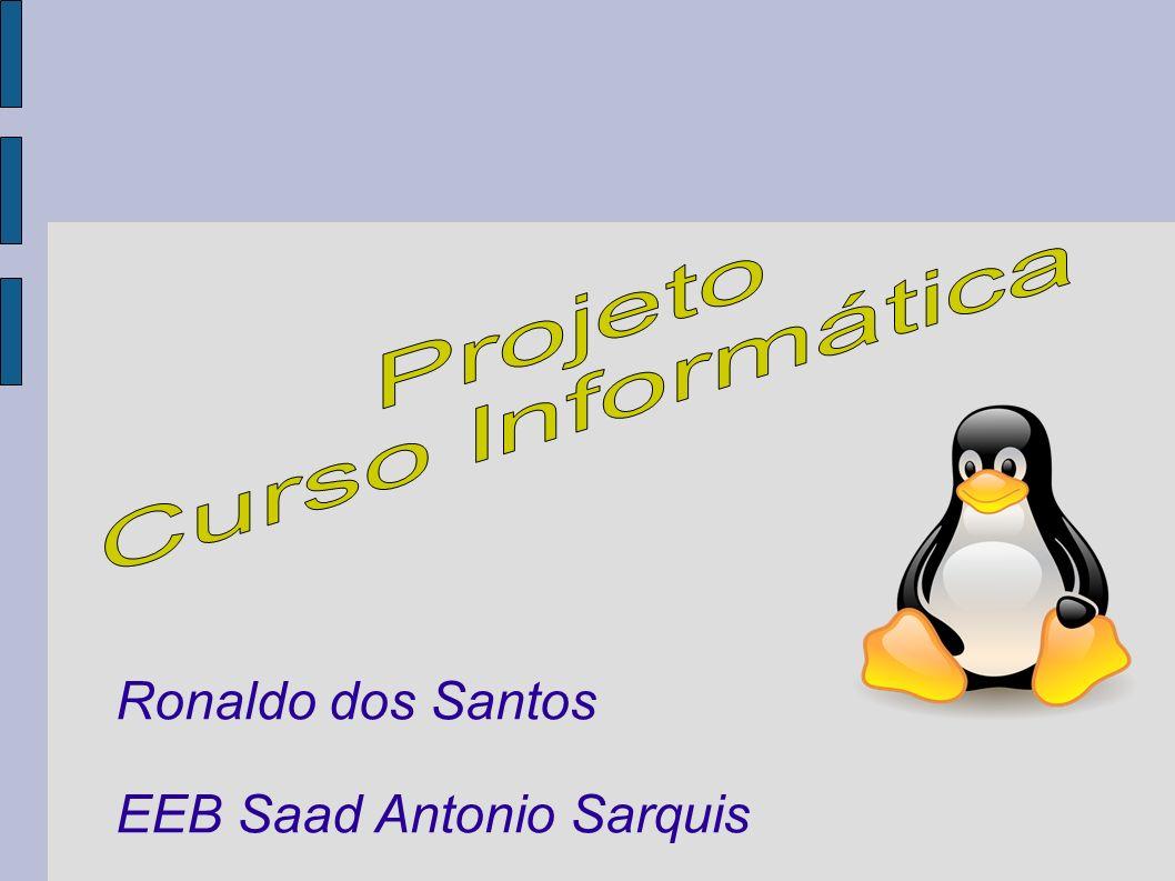Ronaldo dos Santos EEB Saad Antonio Sarquis