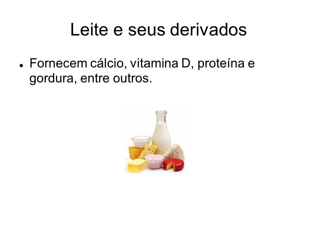 Carne e leguminosas Fornecem proteínas, lipídios, sais minerais e vitaminas do complexo B