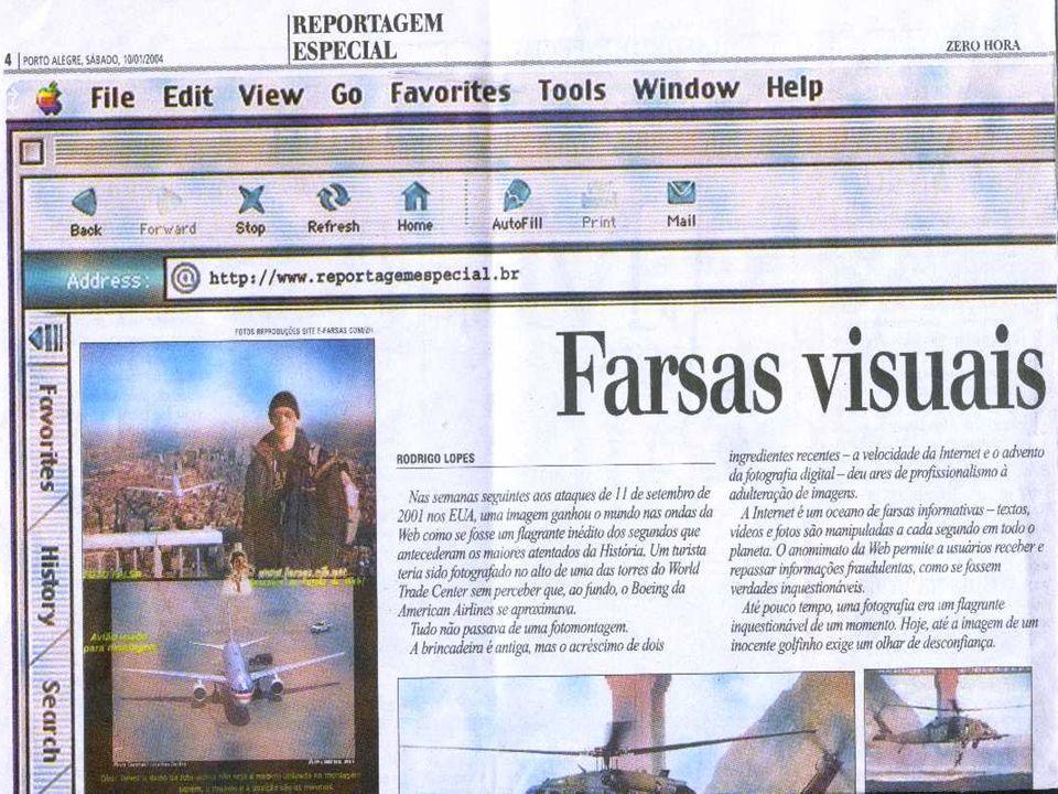 :: 1 - O turista acidental (2001) Possivelmente, a montagem mais famosa já criada.