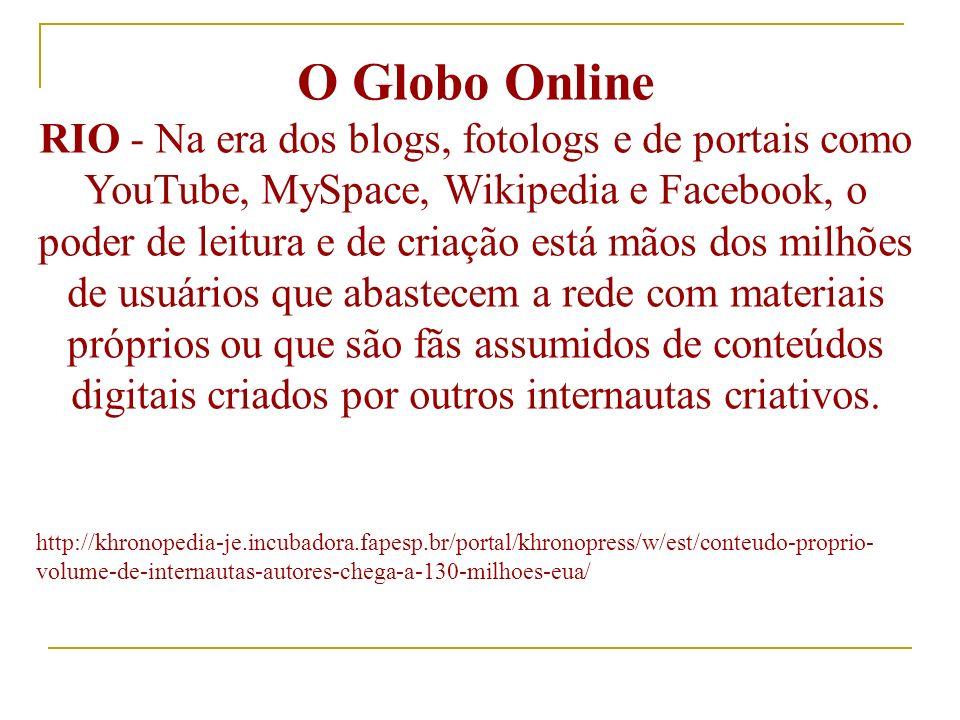 CRESCIMENTO DA PUBLICIDADE NA INTERNET Segundo dados da Initiative, Associação de Mídia Interativa, Ibope Mídia e Meio & Mensagem, os números entre a Internet e a Televisão foram os seguintes: InternetTelevisão 2003200420032004 No Mundo 24%33%4%12% No Brasil 17%36%29%26%