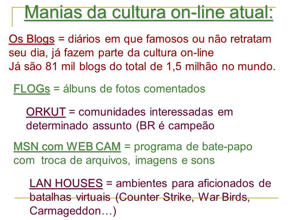 O Globo Online RIO - Na era dos blogs, fotologs e de portais como YouTube, MySpace, Wikipedia e Facebook, o poder de leitura e de criação está mãos dos milhões de usuários que abastecem a rede com materiais próprios ou que são fãs assumidos de conteúdos digitais criados por outros internautas criativos.