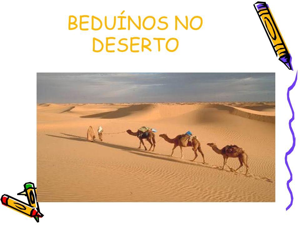 BEDUÍNOS NO DESERTO