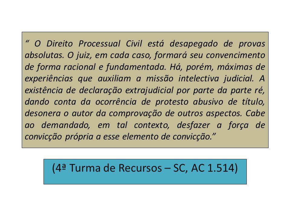 O Direito Processual Civil está desapegado de provas absolutas. O juiz, em cada caso, formará seu convencimento de forma racional e fundamentada. Há,