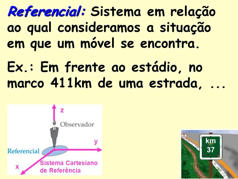 Na Terra a posição pode ser dada por dois ângulos