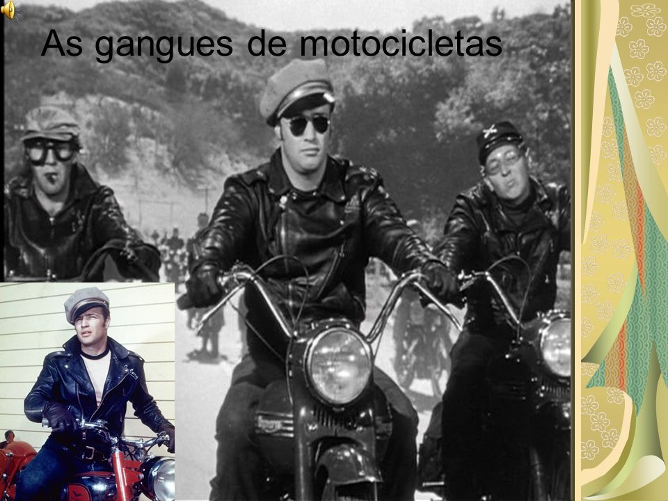 As gangues de motocicletas