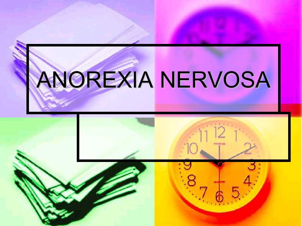 O que é anorexia nervosa .