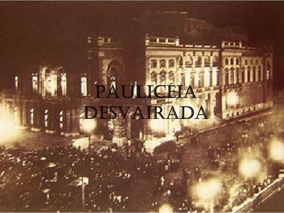 Publicado em 1922, Paulicéia Desvairada, cujo Prefácio Interessantíssimo lança as bases estéticas do Modernismo.