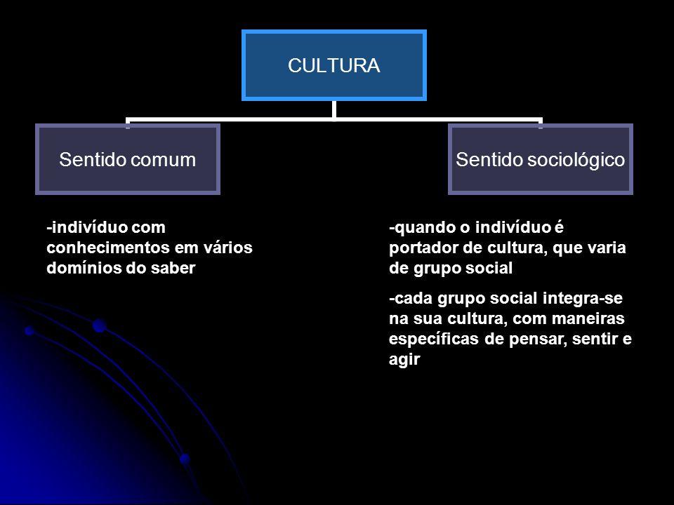O HOMEM PRODUTO DE CULTURA -o Homem é um produto da cultura que herdou PRODUTOR DE CULTURA o Homem modifica o que recebe ou rejeita-o, propondo novas soluções