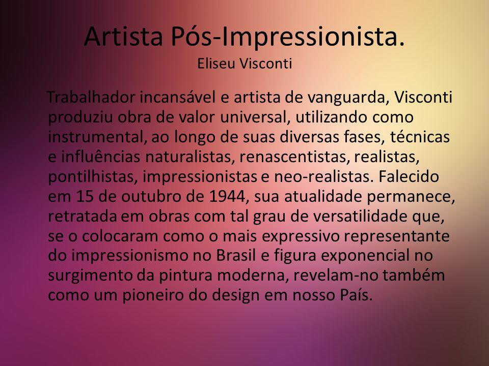 Auto retrato. Eliseu Visconti 1943
