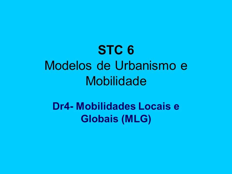 STC 6 Modelos de Urbanismo e Mobilidade Dr4- Mobilidades Locais e Globais (MLG)