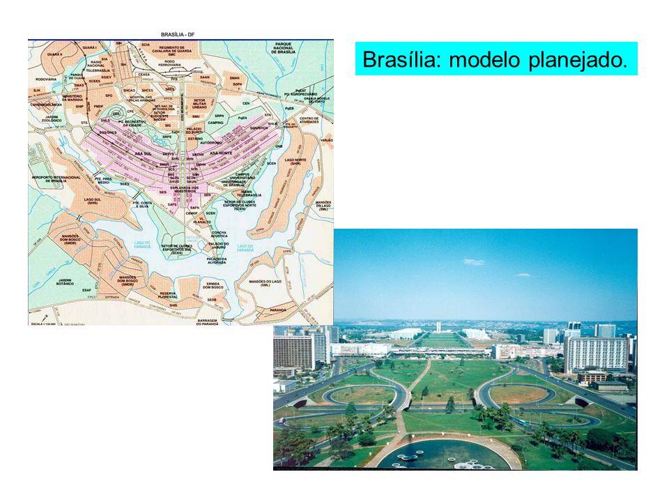 Brasília: modelo planejado.