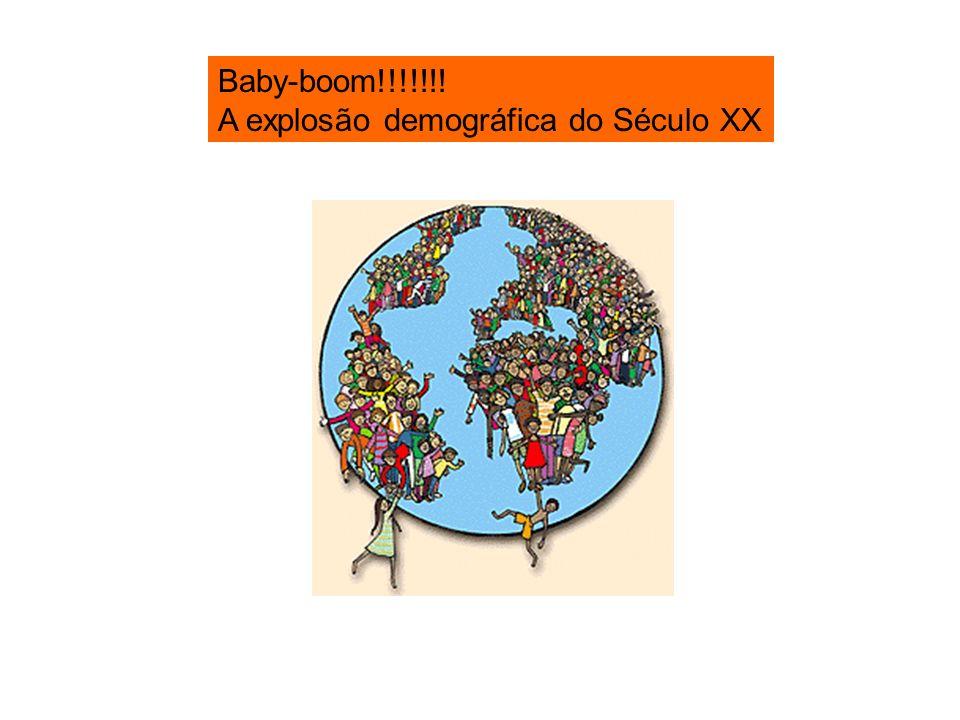Baby-boom!!!!!!! A explosão demográfica do Século XX