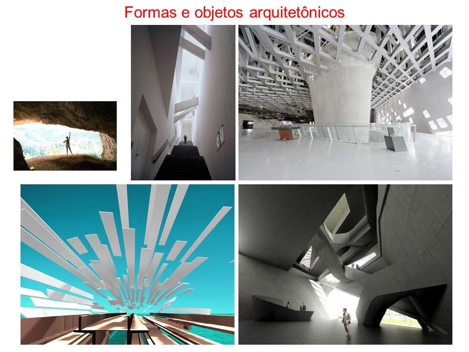 Formas e objetos arquitetônicos