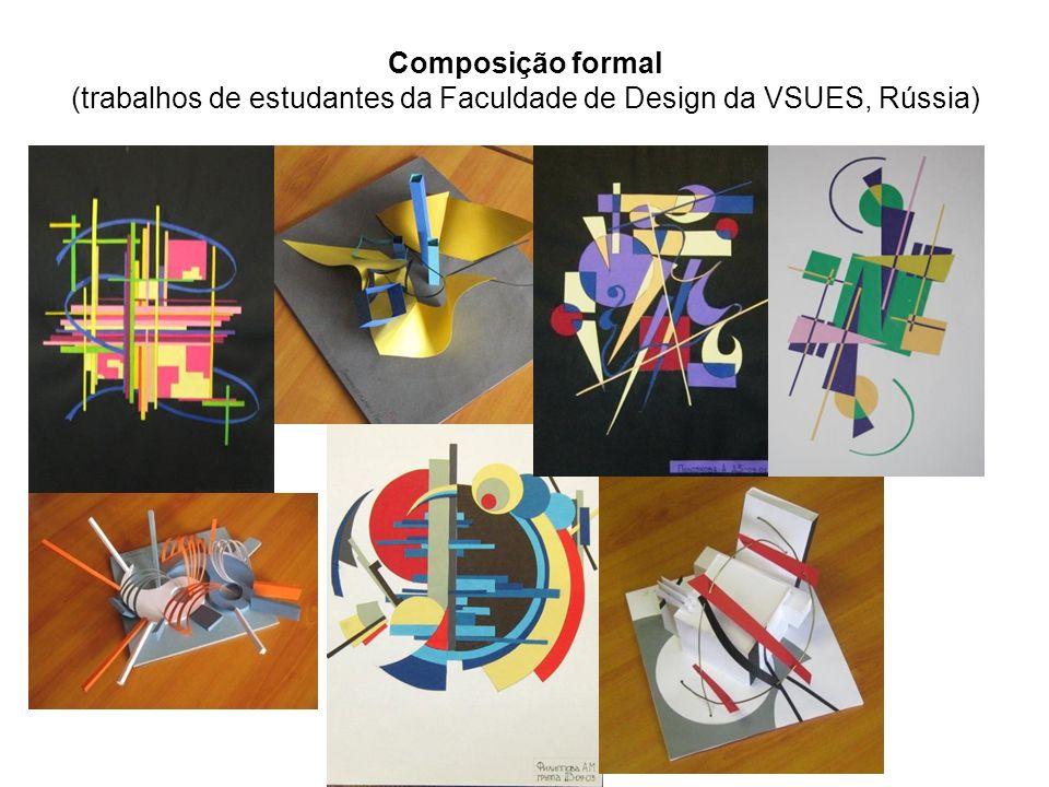 Composição formal (trabalhos de estudantes da Faculdade de Design da VSUES, Rússia)