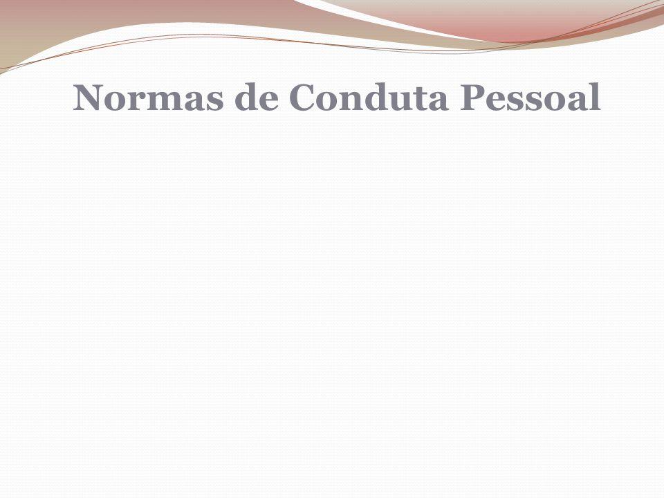 Normas de Conduta Pessoal