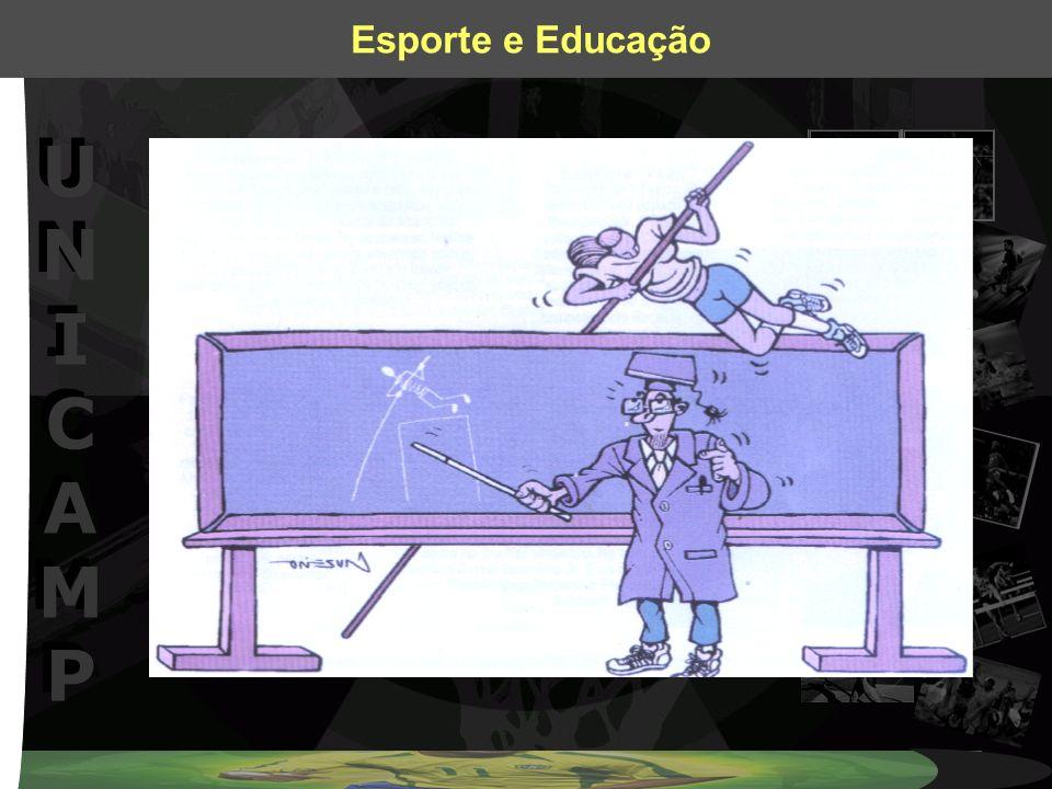 UNICAMPUNICAMP UNICAMPUNICAMP Esporte e Educação