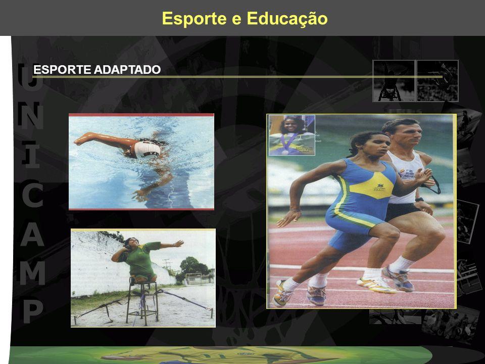 UNICAMPUNICAMP UNICAMPUNICAMP Esporte e Educação ESPORTE ADAPTADO