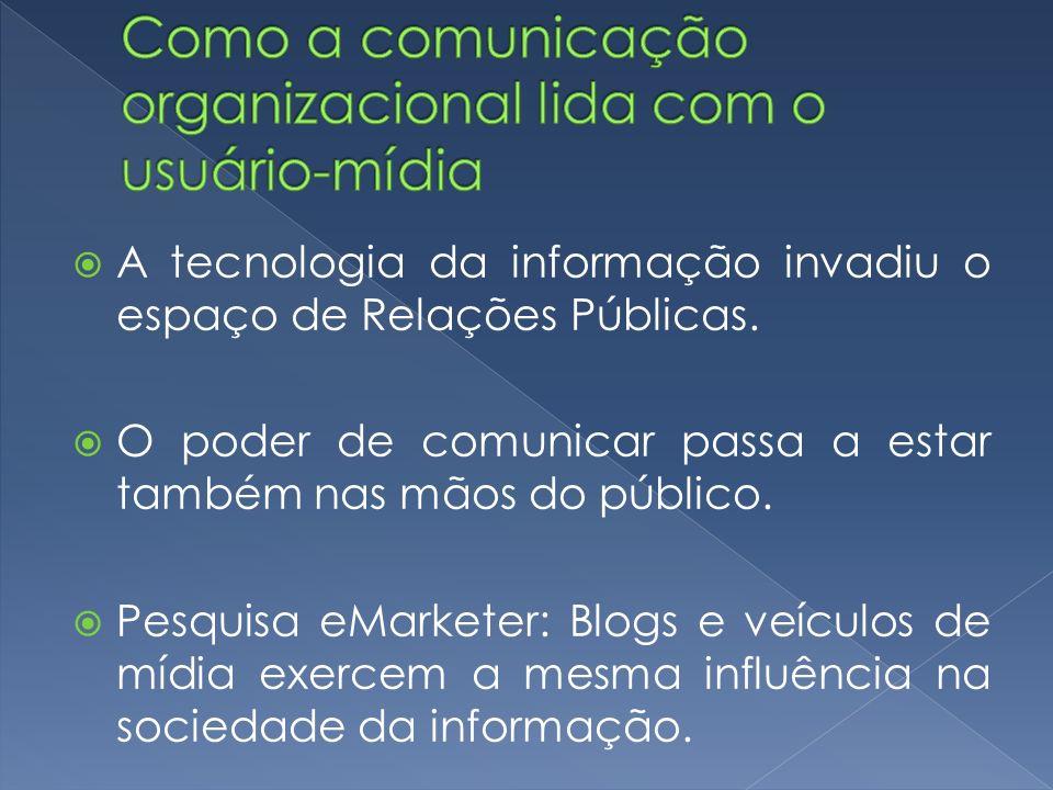 Pesquisa comScore Media Metrix: 34% dos blogueiros, em todo o mundo, compartilham experiências com marcas e produtos e 37% fazem resenhas de produtos.