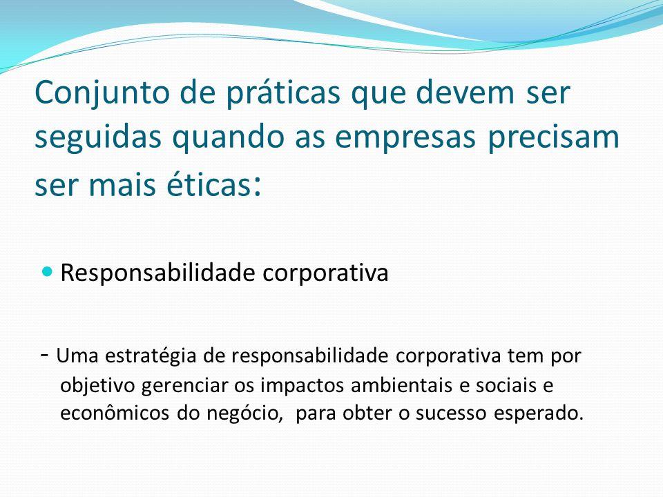 Melhores práticas: Governança corporativa Compliance